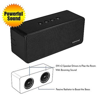 DBPOWER BX-900 10WPortable Wireless Bluetooth Speakers with Built-in Microphone