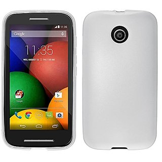 Zizo TPU Protective Cover for Motorola MOTO E - Retail Packaging - Clear
