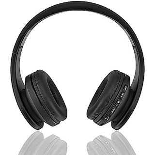 Fetta Wireless Foldable Over Ear Bluetooth Headphones with Mic Travel Acoustic Noise Cancelling Headsets with 3.5 MM Aud