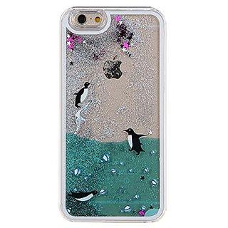 IKASEFU Glitter Liquid Case for Iphone 6 Plus 5.5