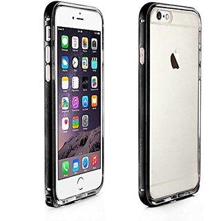 Alienwork Case for iPhone 6 Shock Proof Bumper Cover Ultra-thin Aluminium black AP619-01