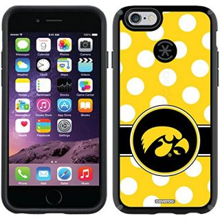 Coveroo CandyShell Cell Phone Case for iPhone 6 - Iowa Polka Dots
