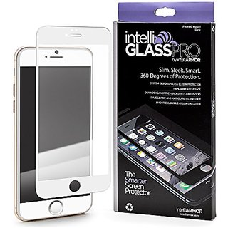 iPhone 6/6S PLUS intelliGLASS Anti-Radiation (White) - The Smarter Glass Screen Protector by intelliARMOR To Guard Again