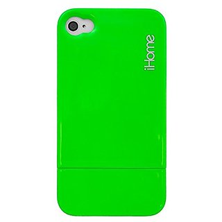 iHome IH-4P101G Neon Green Case for iPhone 4
