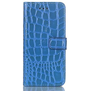 iPhone 6 Plus Wallet Case,Corelink PU Leather Crocodile Pattern Flip Stand Card Slots Case Protective Cover Skin for iPh