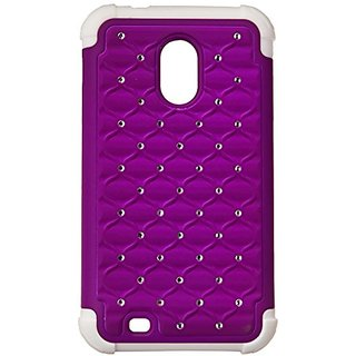 MyBat ASMYNA Samsung D710 Epic 4G Touch/Galaxy S II 4G/R760 Luxurious Lattice Dazzling Total Defense Cover - Retail Pack