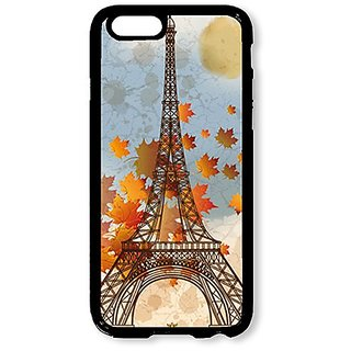 iPhone 6 Case AOFFLY® Eiffel Tower Black Hard Case for iPhone 6 4.7 inch