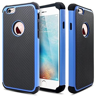 iPhone 6S Case, MC Fashion Shockproof Rugged Hybrid Rubber Hard Cover Case for Apple iPhone 6S 4.7