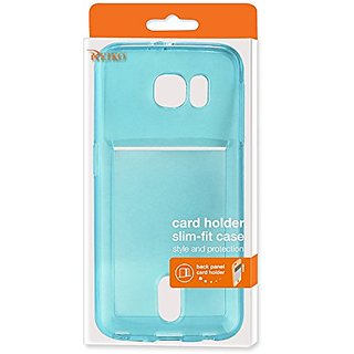 Reiko Wallet Case for Samsung Galaxy Note 5 - Retail Packaging - Clear & Black