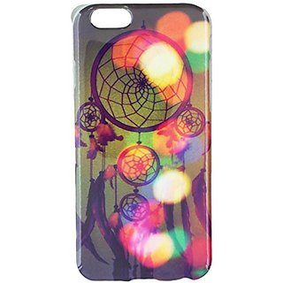 JUJEO Colorized Dream Catcher TPU Back Case for iPhone 6 - Non-Retail Packaging - Multi