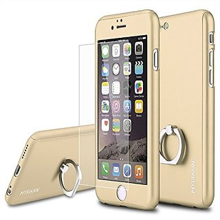 iphone 6 Plus case,iphone 6s plus Case MYRIANN Ultra Thin Full Body Coverage Protection Hard Slim Case with Tempered Gla
