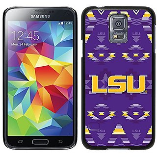 Coveroo Thinshield Case for Samsung Galaxy S5 - Retail Packaging - LSU - Tribal Design