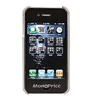 Monoprice Slim Genuine Leather Case for iPhone 4/4S - Retail Packaging - Leather