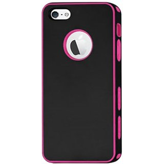 Reiko PP06-IPHONE5BKHPK Portable Lightweight Compact and Durable Protective Case for iPhone 5 - 1 Pack - Retail...