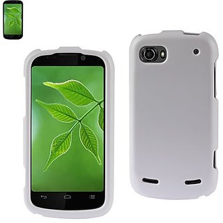 Reiko RPC10-ZTEN861WH Slim and Durable Rubberized Protective Case for ZTE Warp 2 N861 - Retail Packaging - White