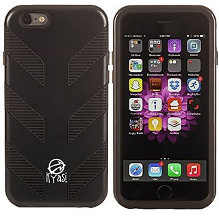 Kyasi Prime Mech Smart Phone Case for iPhone 6 - Retail Packaging - Black