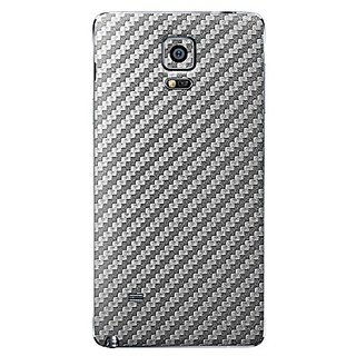Samsung Galaxy Note 4 Skins, Cruzerlite Carbon Fiber (Back) Skins Compatible for Samsung Galaxy Note 4 - Graphite