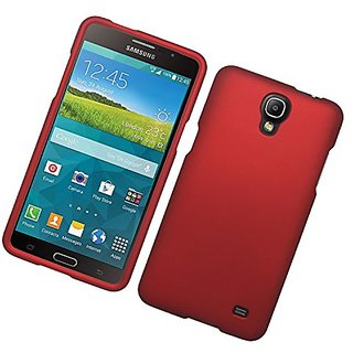 Eagle Cell Rubber Cover Case for SAMSUNG Galaxy Mega 2 - Retail Packaging - Red