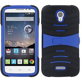 Zizo Carrying Case for Alcatel One Touch Pop Astro - Retail Packaging - Black/Blue