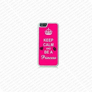 Krezy Case iPhone 6 Plus Case, iPhone 6 Plus case, Keep calm be a princess on iPhone 6 Plus Case, Cute iPhone 6 Plus Cas