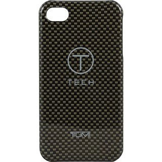 T-Tech by Tumi 00994 Snap On Case for iPhone 4/4S- 1 Pack - Retail Packaging - Bronze Carbon Fiber