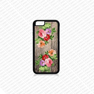 Krezy Case iPhone 6 Plus Case, iPhone 6 Plus case, Cute Flower (Not a real wood) iPhone 6 Plus Case, Cute iPhone 6 Plus