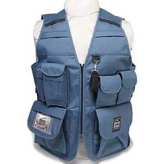 Portabrace VV-L 42-Inch-46-Inch Video Vest - Large (Blue)