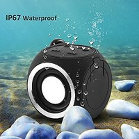Portable Mini Cute Wireless Speaker IP67 Water Resistant Shower Bluetooth Speaker For IPhone Series And Android Phones B