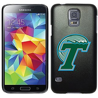 Coveroo Thinshield Case for Samsung Galaxy S5 - Retail Packaging - Black/Tulane T Design