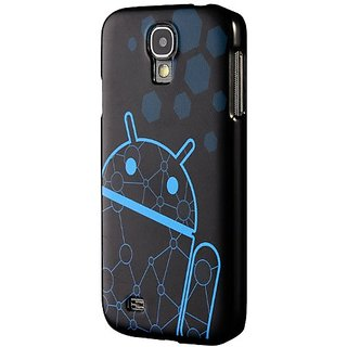 Galaxy S4 Case, Cruzerlite Print Case (PC Case) Compatible for Samsung Galaxy S4 - DNA Blue