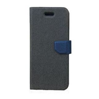Fenice F43-DG-IP5 Ver.2 DIARIO Premium Case for Apple iPhone 5 - Retail Packaging - Denim Grey
