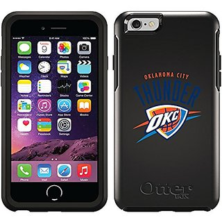 Coveroo Cell Phone Case for iPhone 6 - Retail Packaging - Black/Oklahoma City Thunder Okc Design