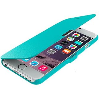 Accessory Planet(TM) Baby Blue Magnetic Closing Wallet Pouch Case Cover Accessory for Apple iPhone 6 Plus (5.5)