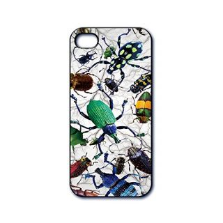 Dimension 9 3D Lenticular iPhone 5/5s Cell Phone Cover - Retail Packaging - Beetle Collage