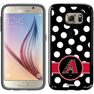 Coveroo CandyShell Cell Phone Case for Samsung Galaxy S6 - Retail Packaging - Arizona Diamondbacks Polka Dots
