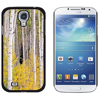 Graphics and More Colorado CO Aspens - Snap On Hard Protective Case for Samsung Galaxy S4 - Non-Retail Packaging - Black