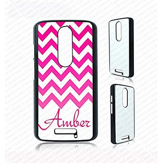 Krezy Case pink gredient chevron pattern Monogram Moto g3 Case, moto g3 Cover, Monogram moto g3 Cases, Cute moto g3 Case