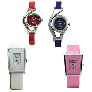 Glory 4 PIECE GLORY COMBO WATCHES FOR WOMEN by Sports