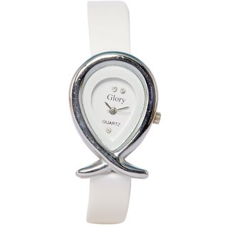 Women Fancy White Designer Casual Analog Girls And Ladies Watches By Sports Online