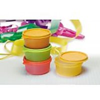 Tupperware Tropical Cups / Bowls - 230ml Set Of 4