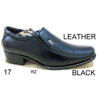 Trax Stylish Men's Black Formal Shoes - Option 29
