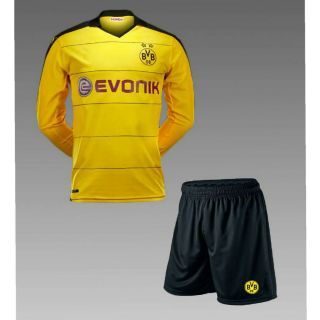 Yellow color Imported football game set and sports Jersey