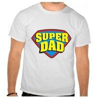 Super Dad Round Neck T-Shirt