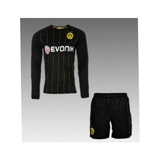 Juventes black color Imported football Jersey and game set