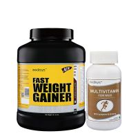 Medisys Fast Weight Gainer - Chocolate - 3Kg Free Multivitamin For Men
