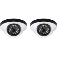 EwareHD Security Camera CCTV Night Vision Dome 2 PCS Camera 1000TVL With 1 Year Warranty(2 PCS CAMERA)