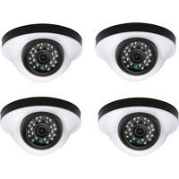 EwareHD Security Camera CCTV Night Vision Dome 4 PCS Camera 1000TVL With 1 Year Warranty(4 PCS CAMERA)