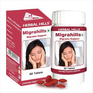 Herbal Hills Migrahills 60 Tablets