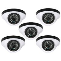 EwareHD Security Camera CCTV Night Vision Dome 5 PCS Camera 1000TVL With 1 Year Warranty(5 PCS CAMERA)
