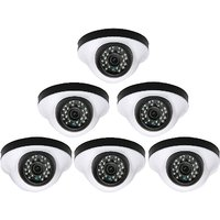 EwareHD Security Camera CCTV Night Vision Dome 6 PCS Camera 1000TVL With 1 Year Warranty(6 PCS CAMERA)